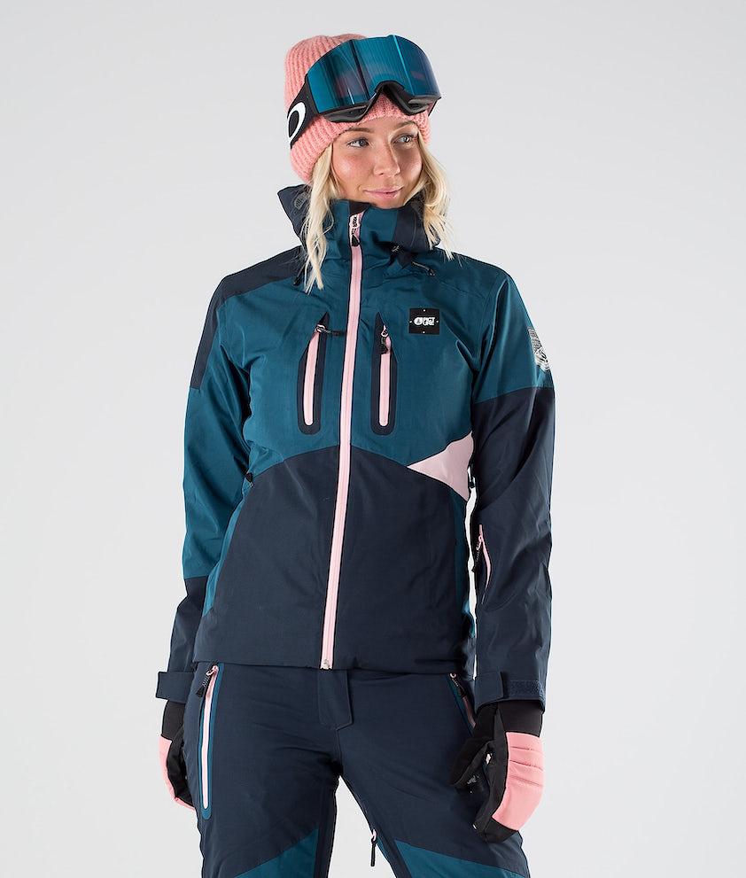 Picture Seen Snowboard Jacket Dark Blue