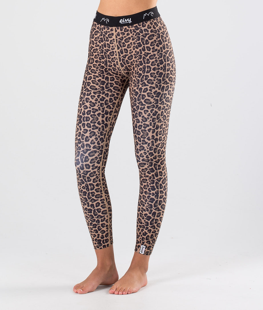 Eivy Iceold Tights Pantalon thermique Leopard