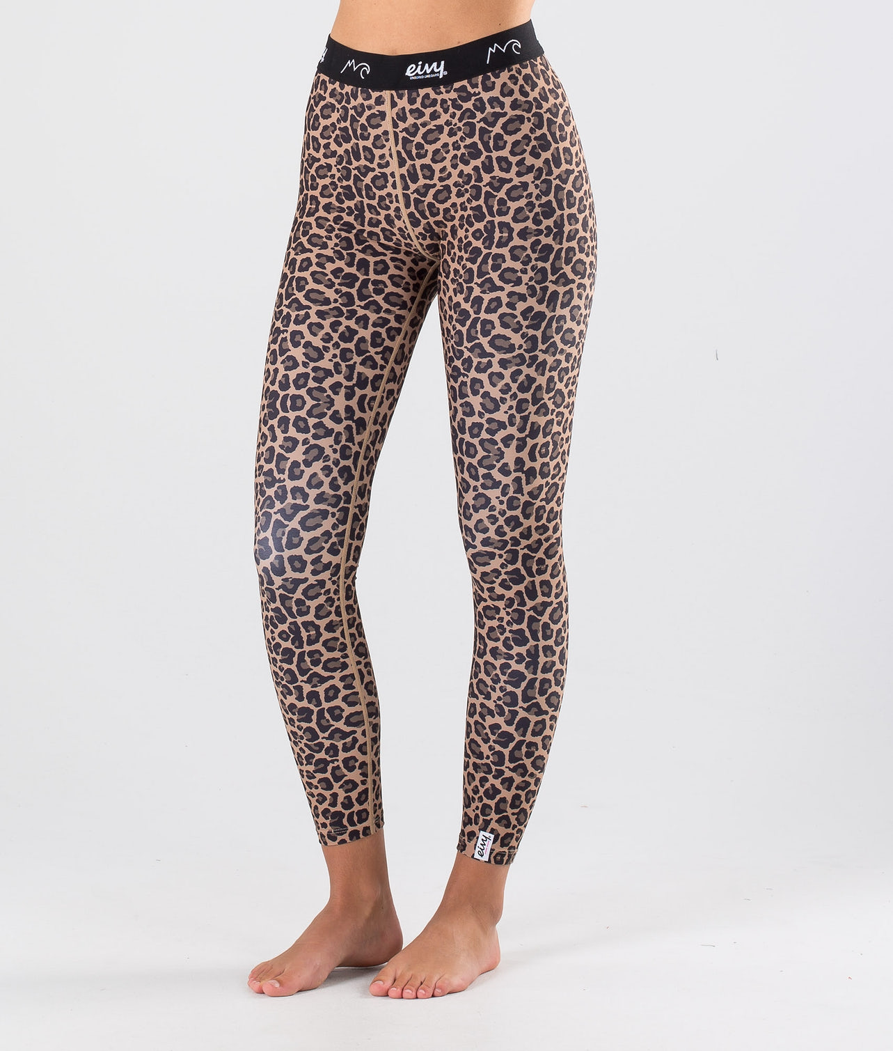 Eivy Iceold Tights Superundertøy bukse Leopard