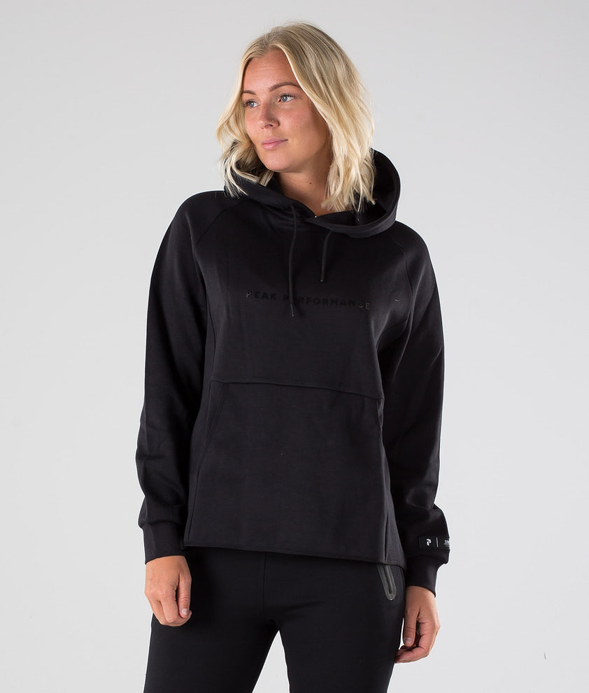 Peak Performance Tech Hood Black