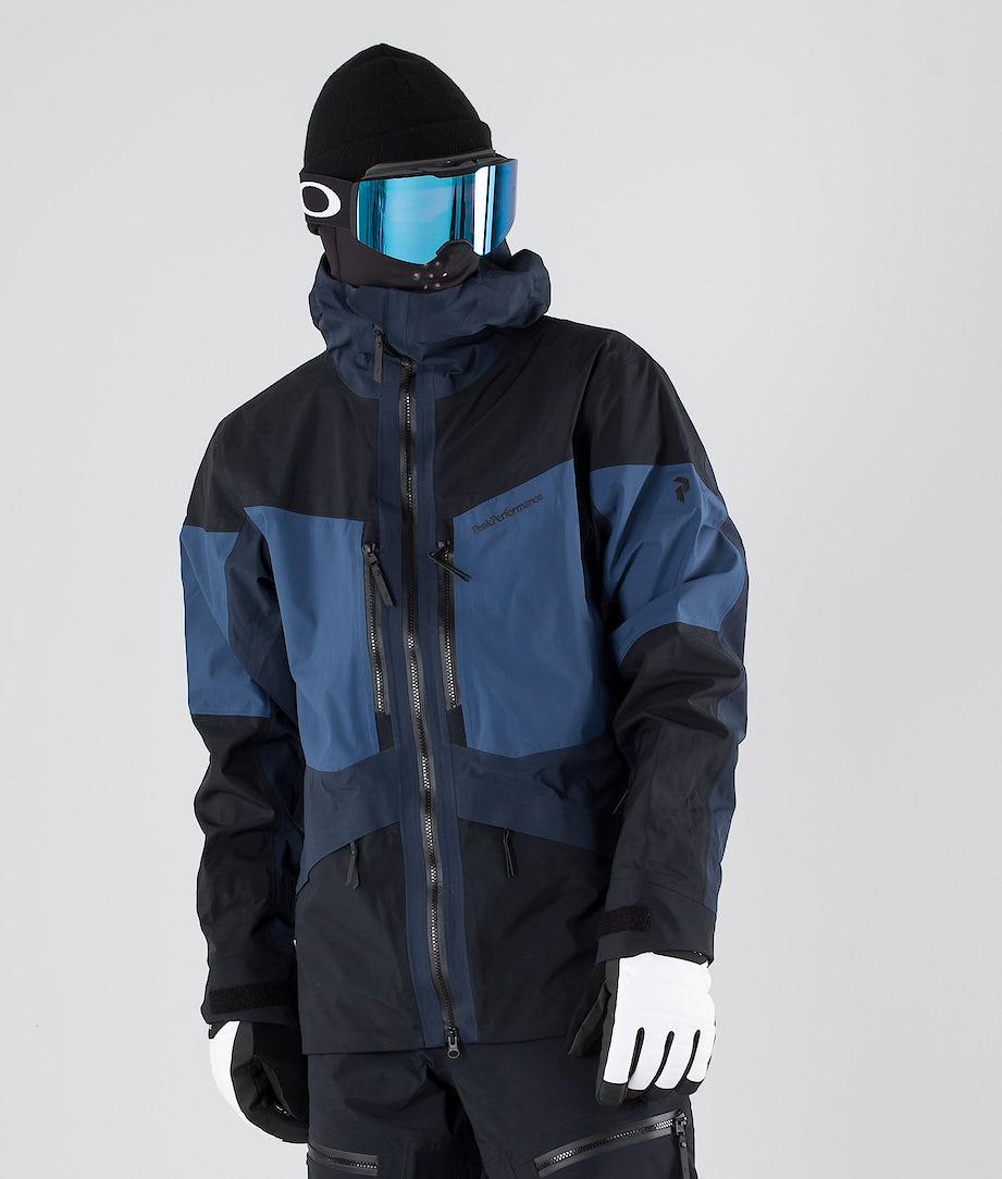 Peak Performance Gravity Ski Jacket Decent Blue