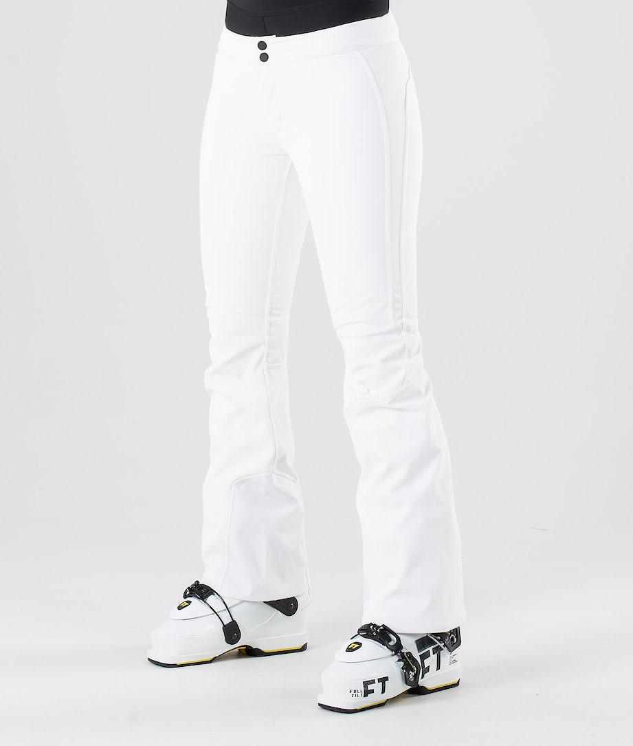 Peak Performance Stretch Lasketteluhousut Offwhite