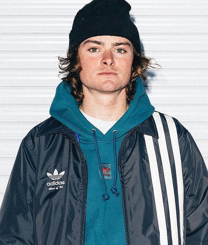 Adidas Skateboarding Team Hood Viridian/Power Red