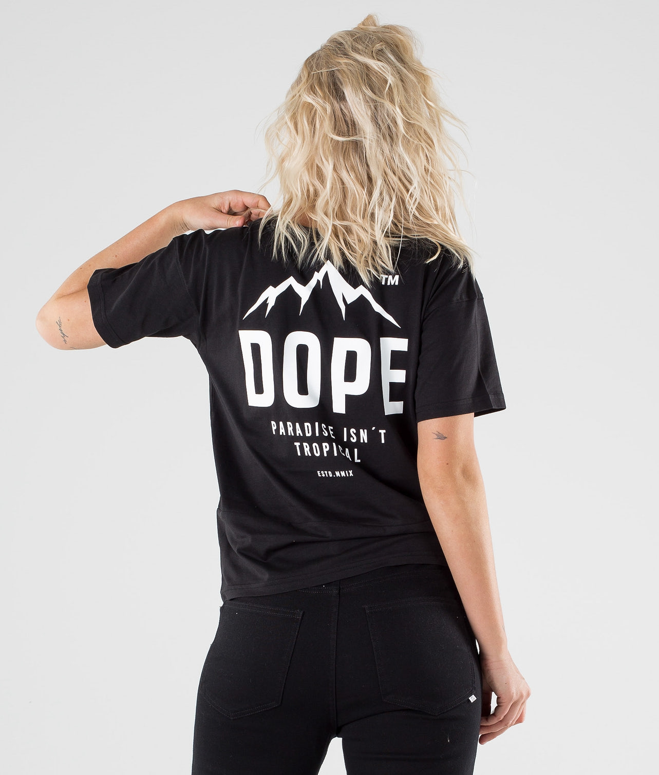 Dope Grand Paradise II T-shirt Black