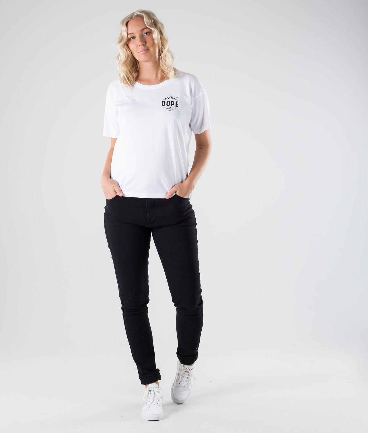Dope Grand Paradise II T-shirt White