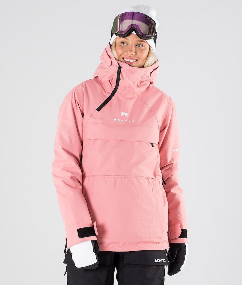 Montec Dune W Skidjacka Pink