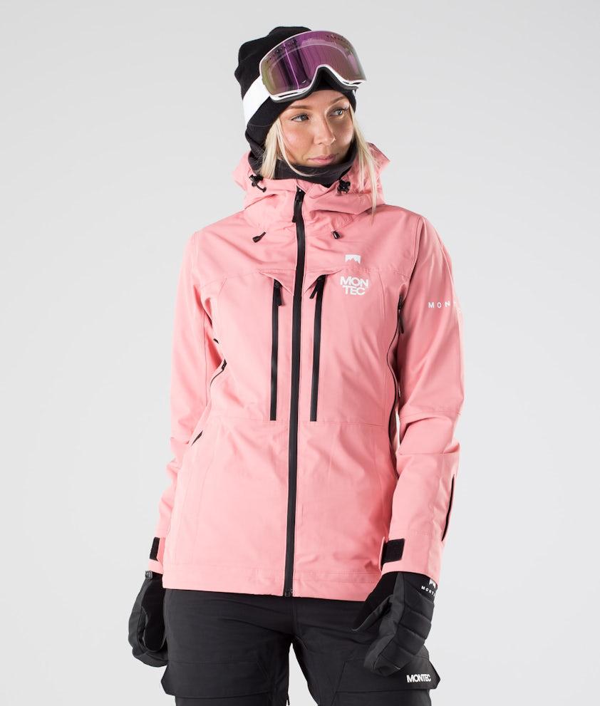 Montec Moss Skijakke Pink