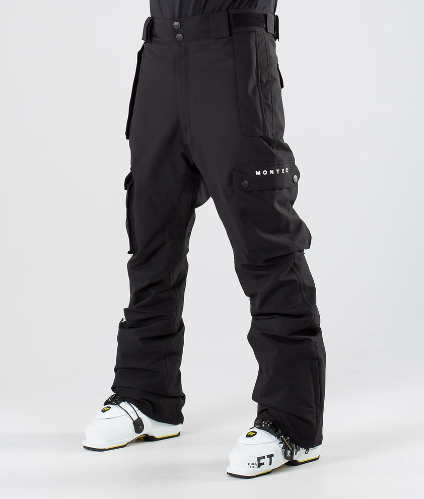 Montec Doom Pantalon de Ski Black