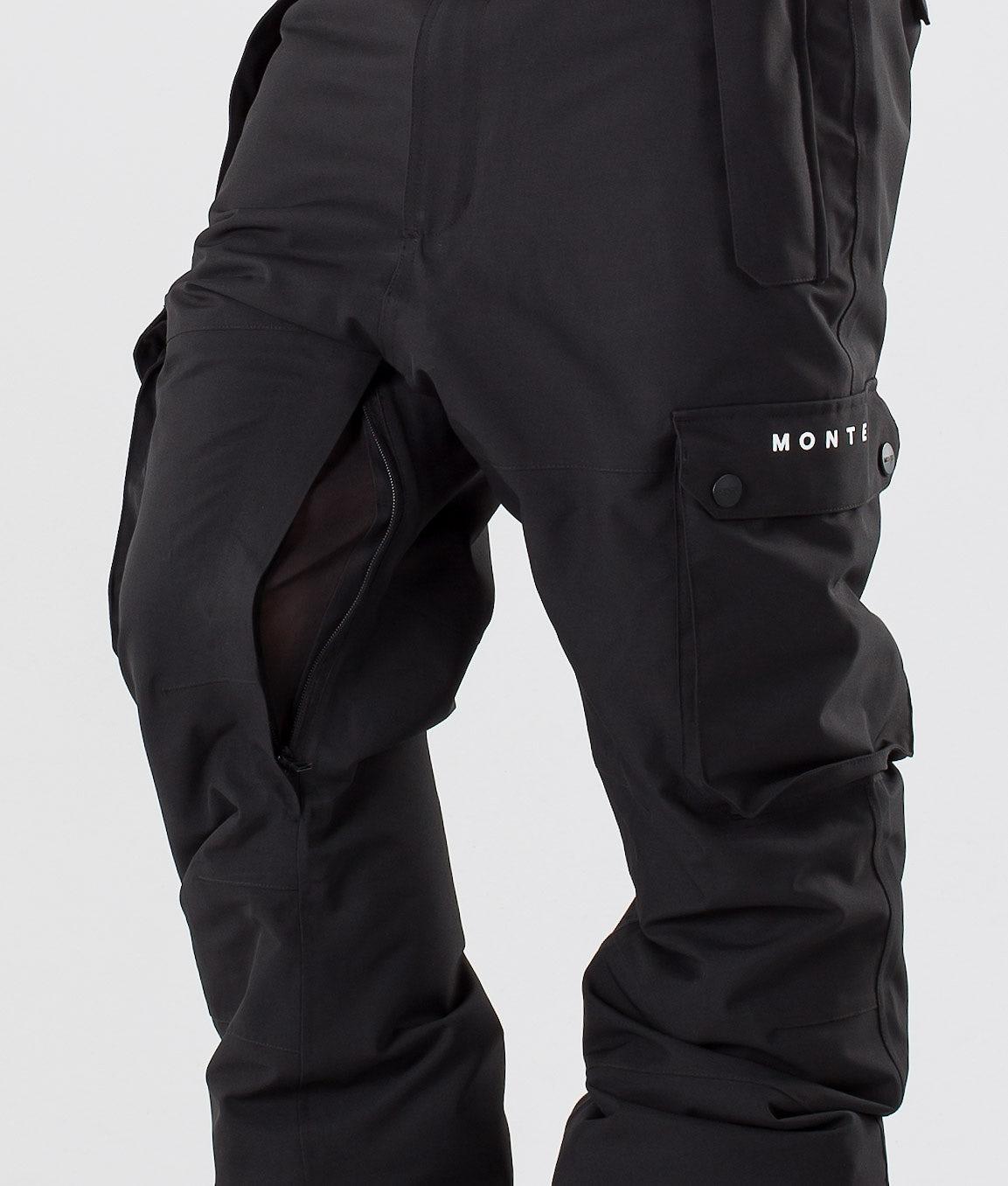 Montec Doom Pantalon de Ski Black