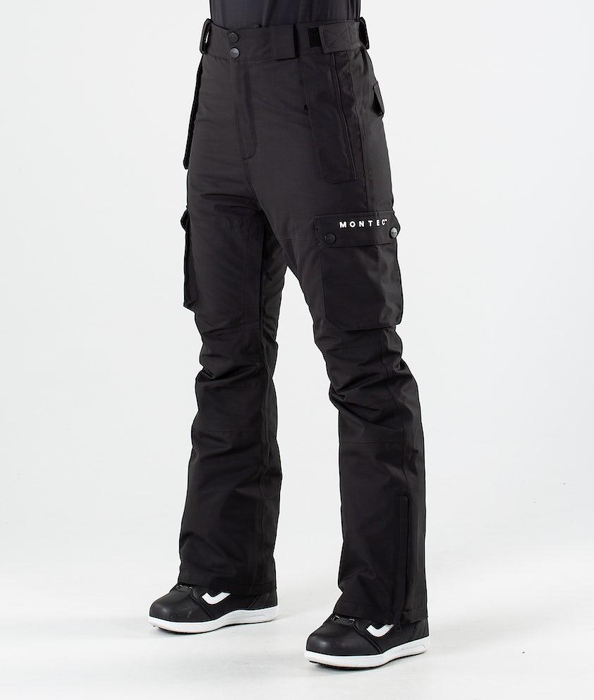 Montec Doom Snowboardbukse Black