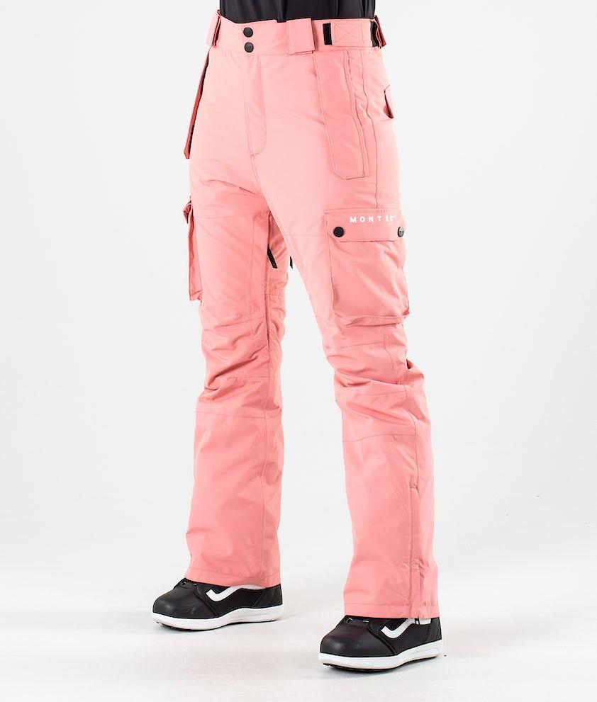 Montec Doom Snowboard Pants Pink