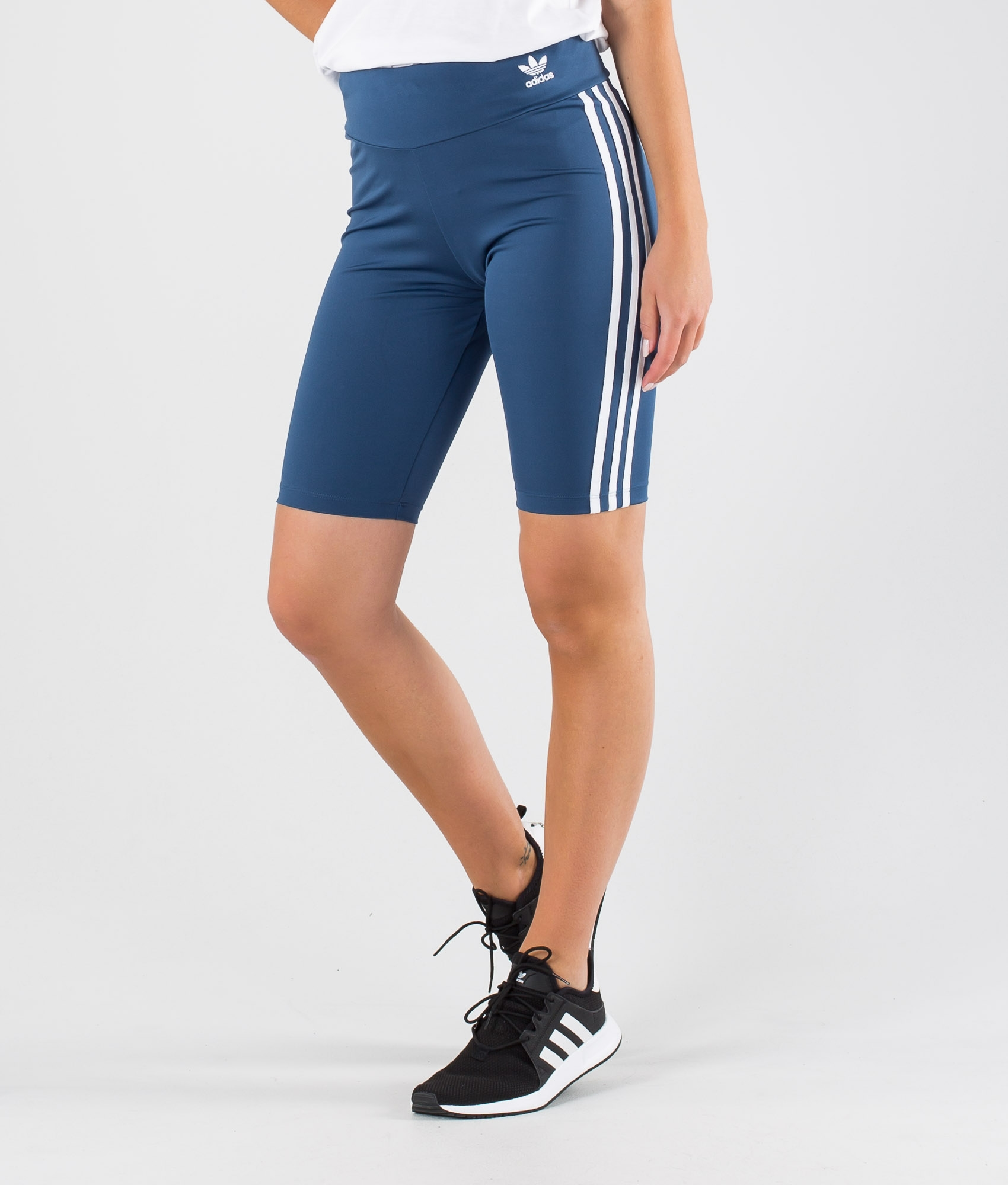 Adidas Originals Short Tights Shorts Night MarinWhite