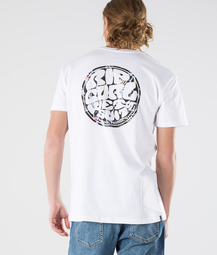 Rip Curl Passage Tee T-shirt Optical White
