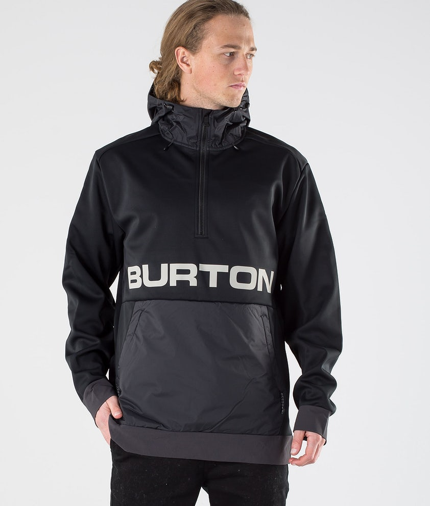 Burton Crown Bonded Performance Pull True Black