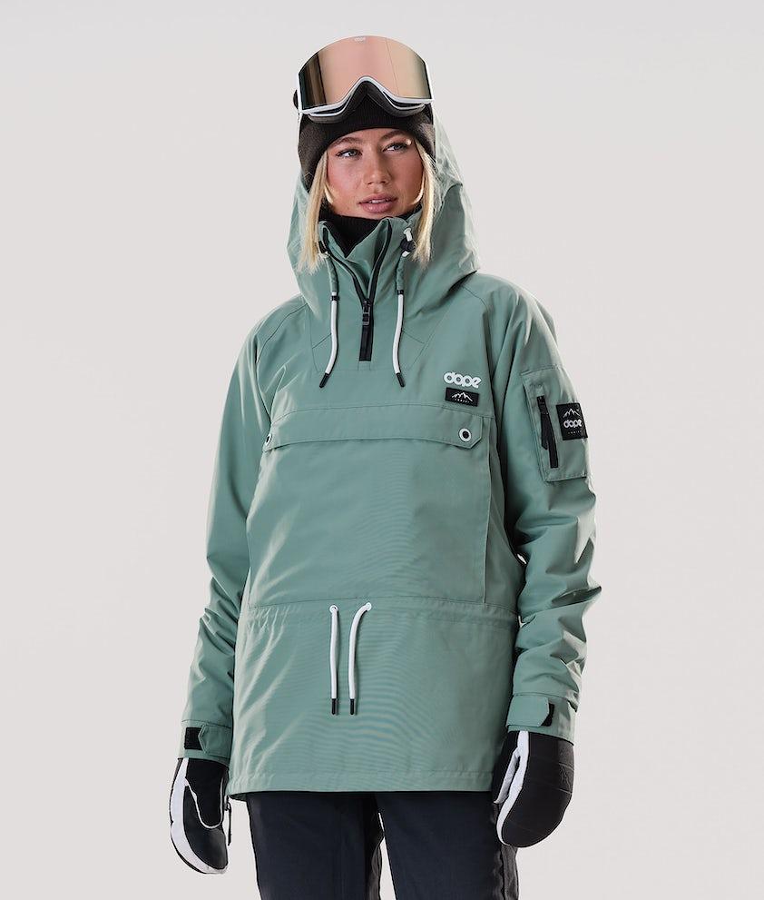Dope Annok W Ski Jacket Faded Green