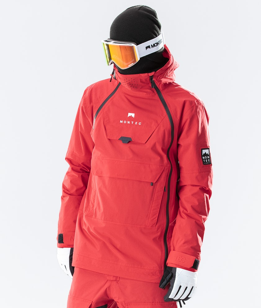 Montec Doom Ski Jacket Red