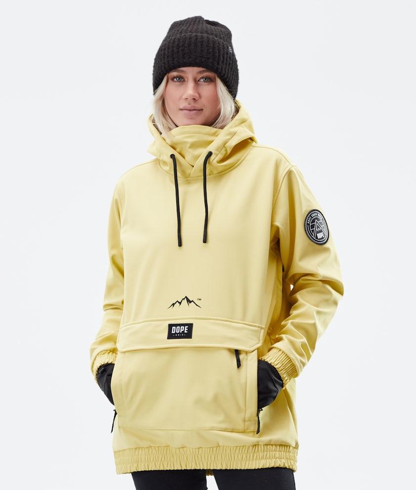 Dope Wylie Patch W Winter Jacket Faded Yellow