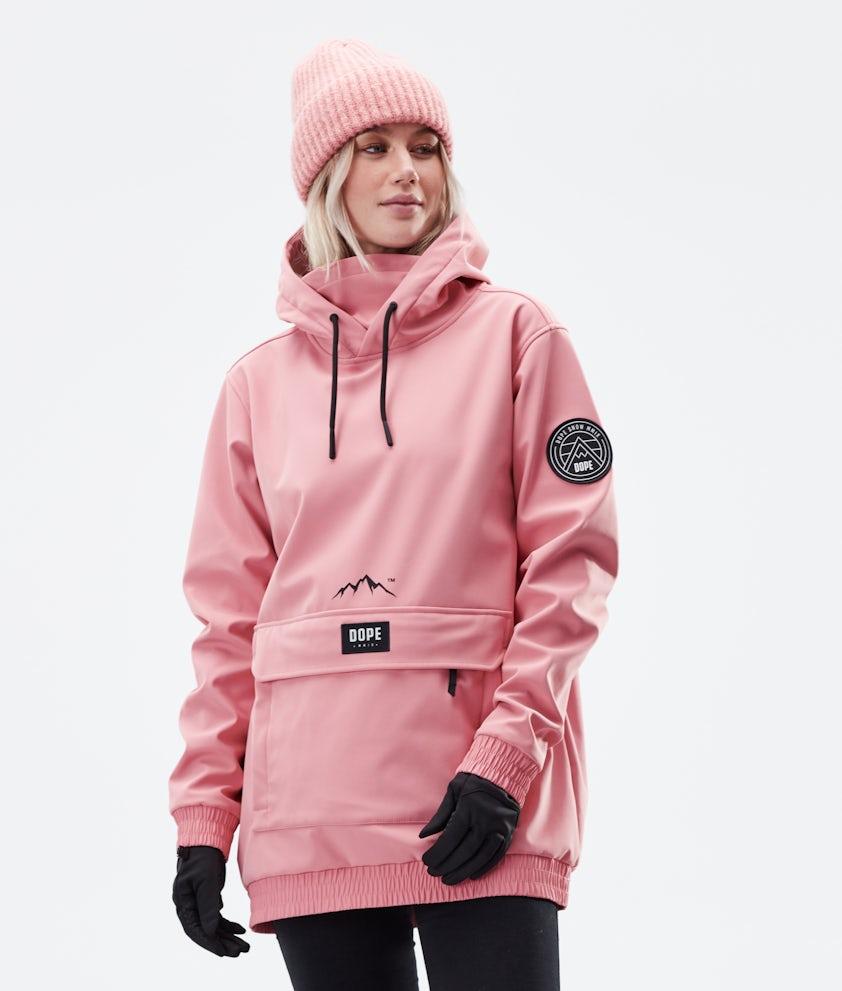 Dope Wylie Patch W Winterjas Pink