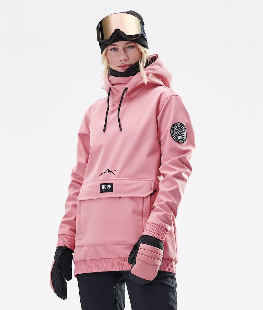 Dope Wylie Patch W Skijakke Pink
