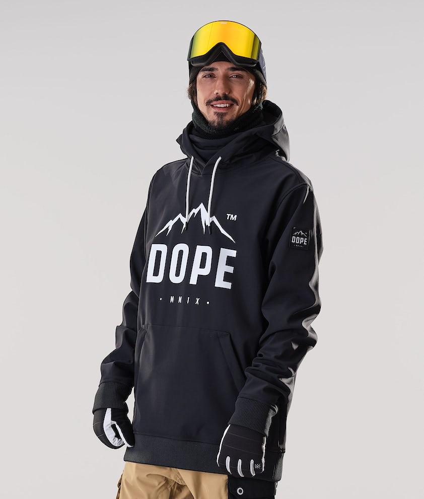 Dope Yeti Paradise Skijakke Black