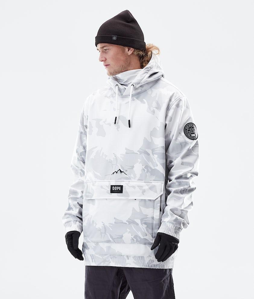 Dope Wylie Patch Winter Jacket Tucks Camo