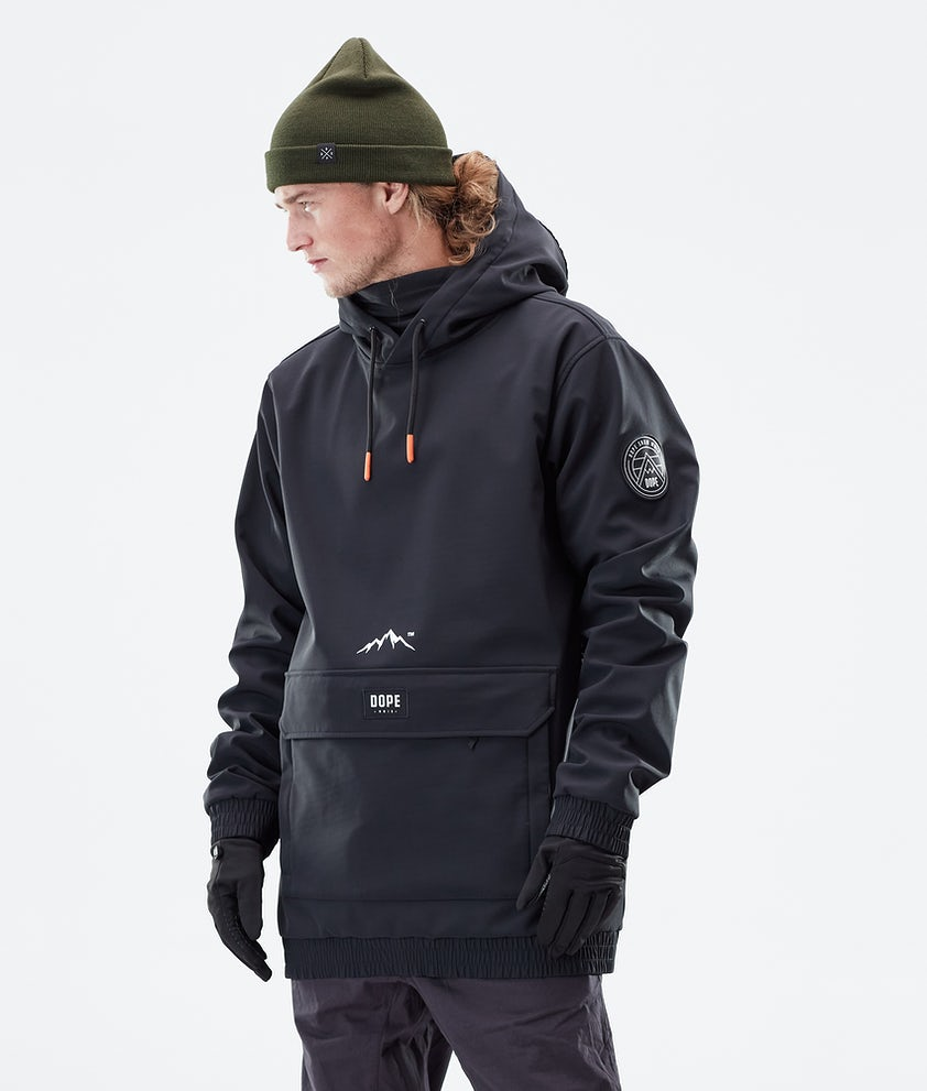 Dope Wylie Patch Winter Jacket Black