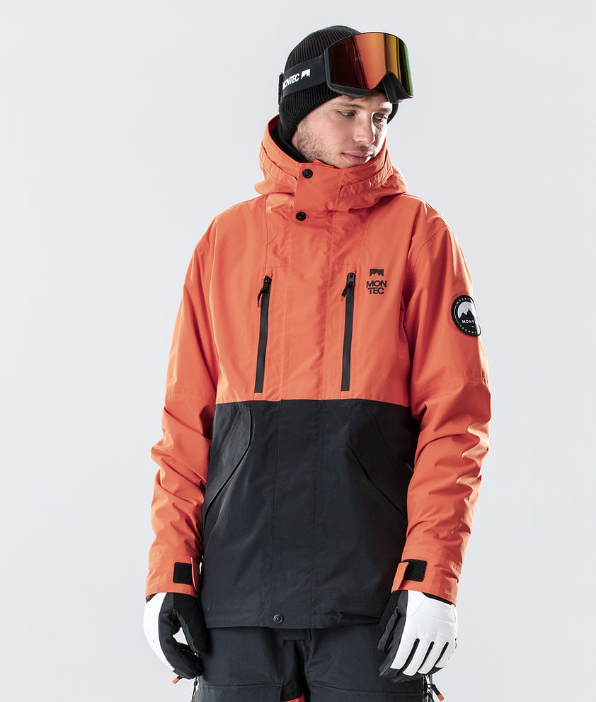 Montec Roc Ski Jacket Orange/Black