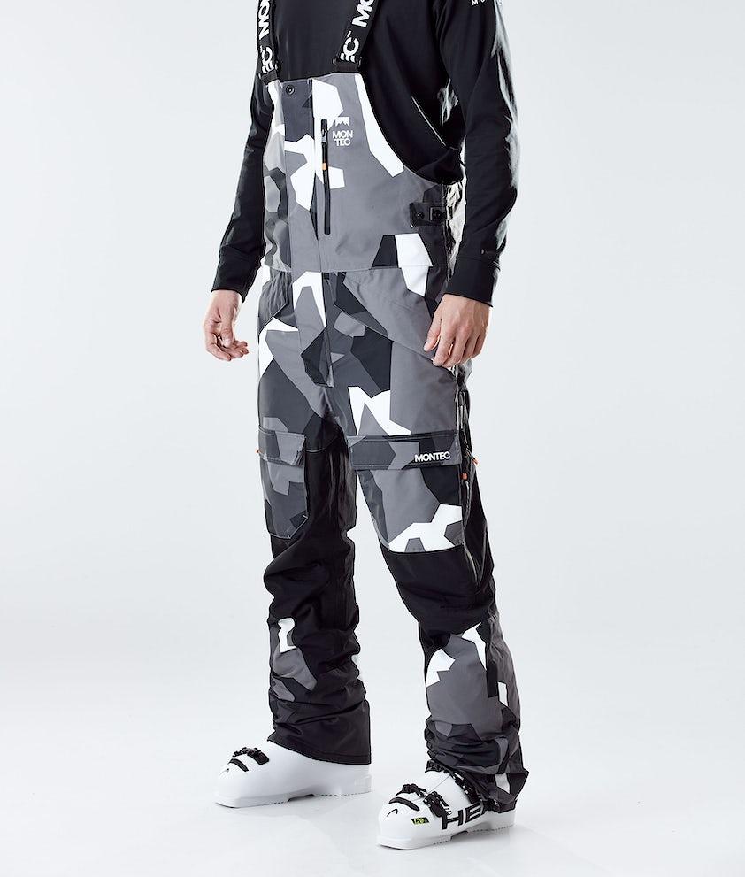 Montec Fawk Ski Pants Arctic Camo/Black