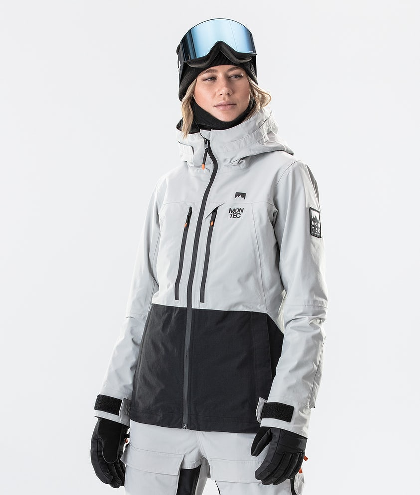 Montec Moss Veste de Ski Light Grey/Black