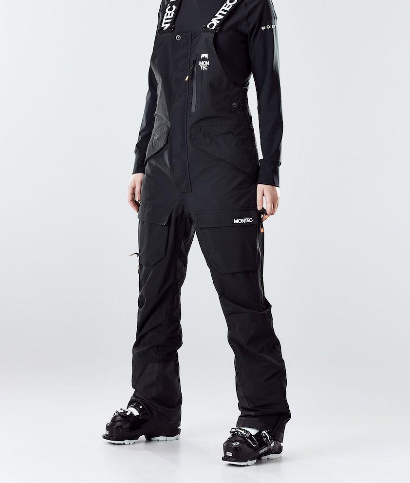 Montec Fawk W Pantalon de Ski Black