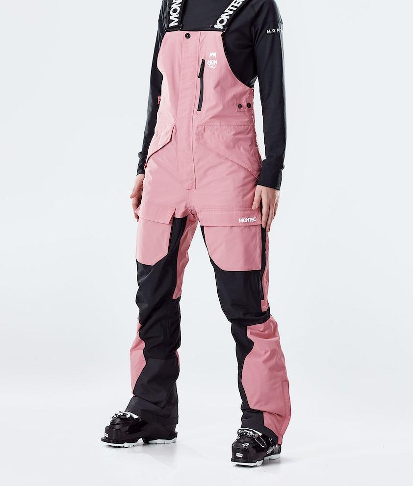 Montec Fawk W Ski Pants Pink/Black