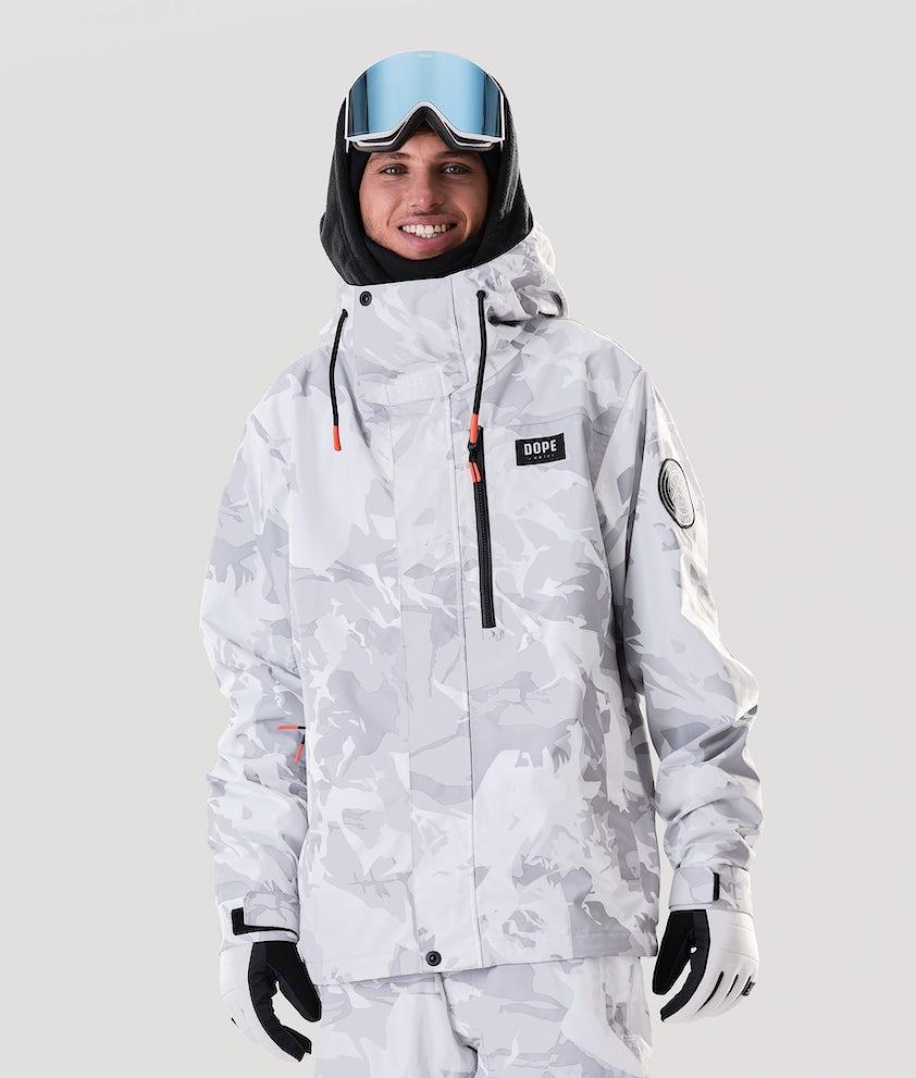Dope Blizzard FZ Ski Jacket Tucks Camo