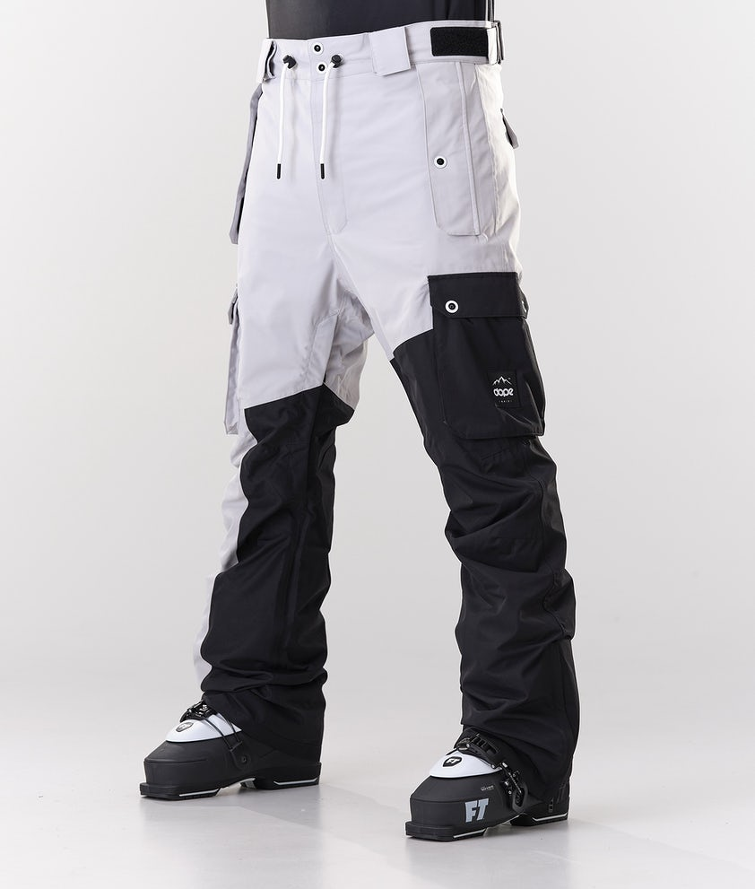 Dope Adept Skihose Light Grey/Black