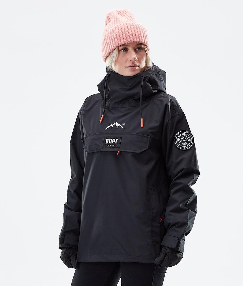 Dope Blizzard PO W Winter Jacket Black