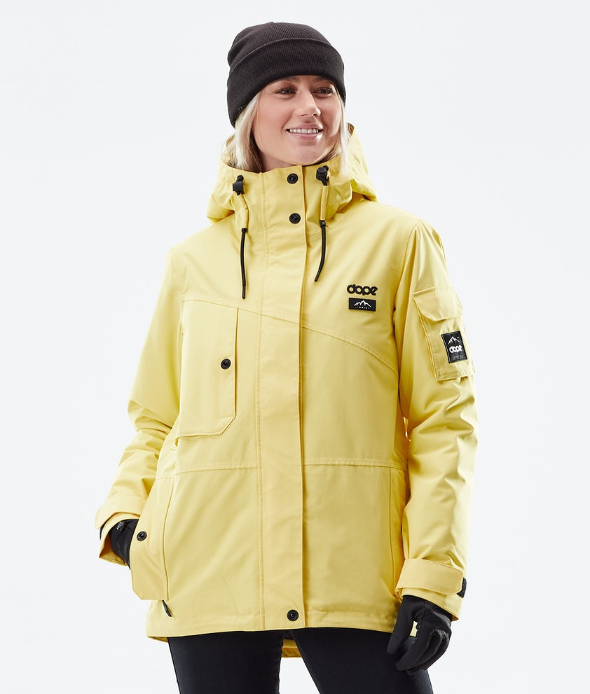 Dope Adept W Winter Jacket Faded Yellow