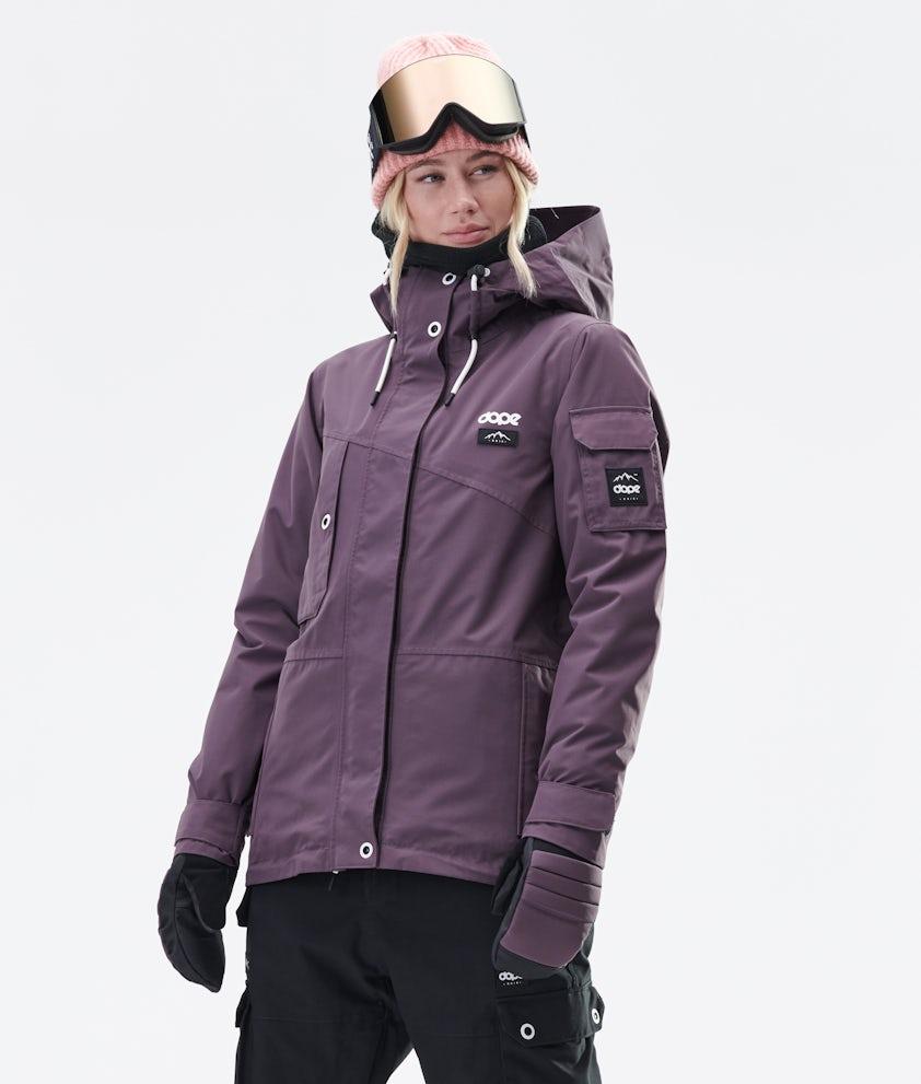 Dope Adept W Ski Jacket Faded Grape