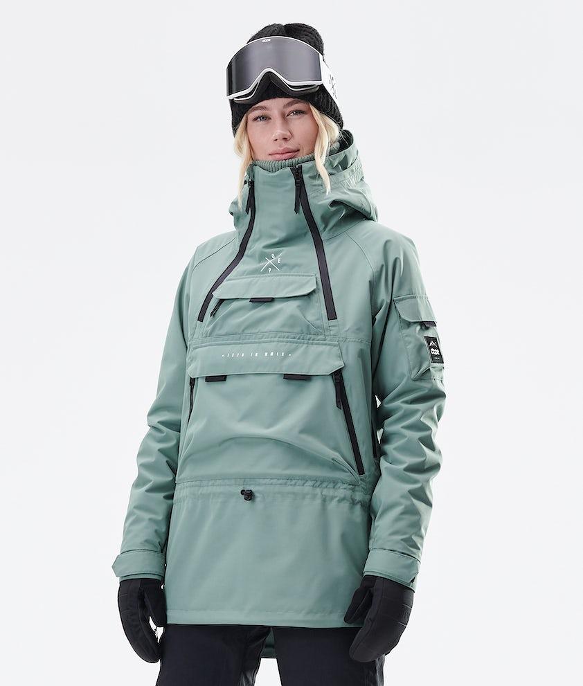 Dope Akin W Veste de Ski Faded Green