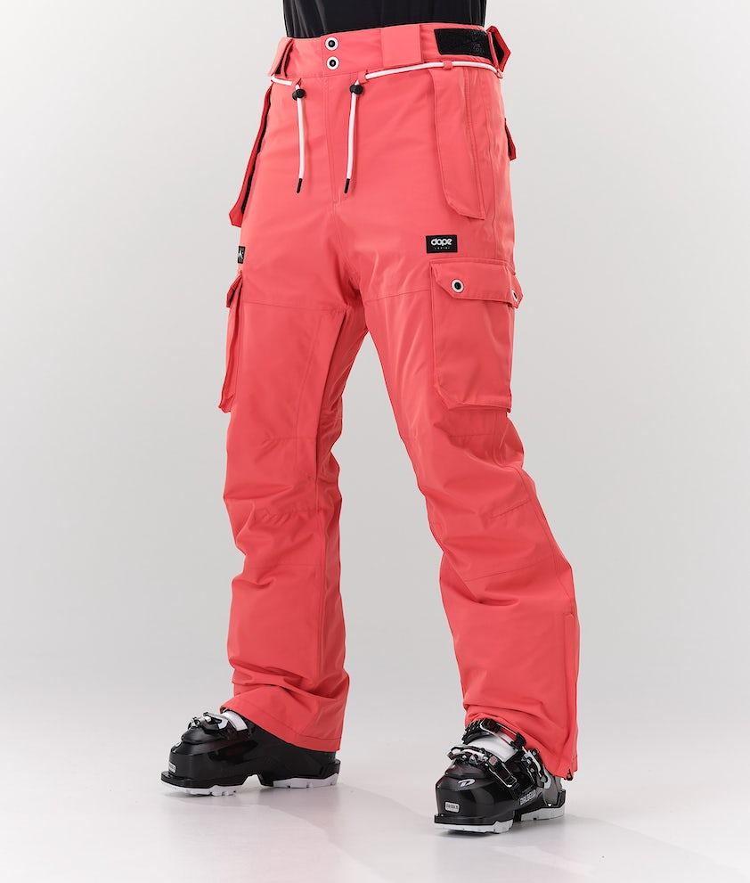Dope Iconic W Pantalon de Ski Coral