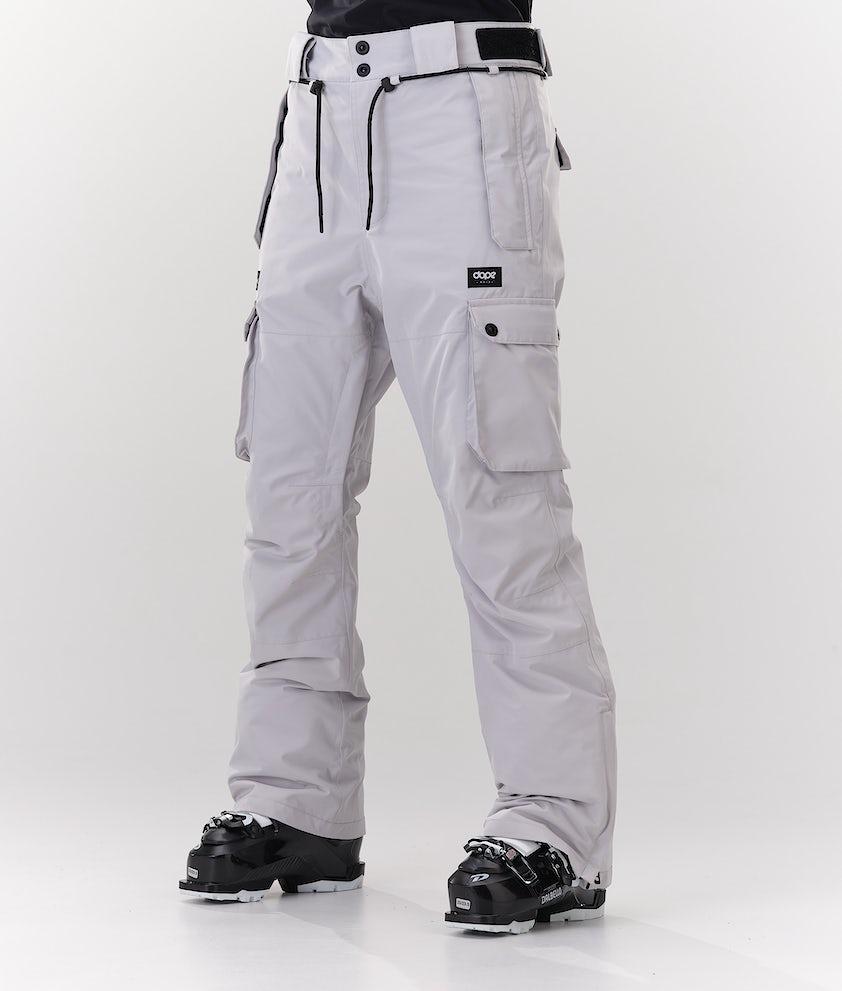 Dope Iconic W Pantalon de Ski Light Grey