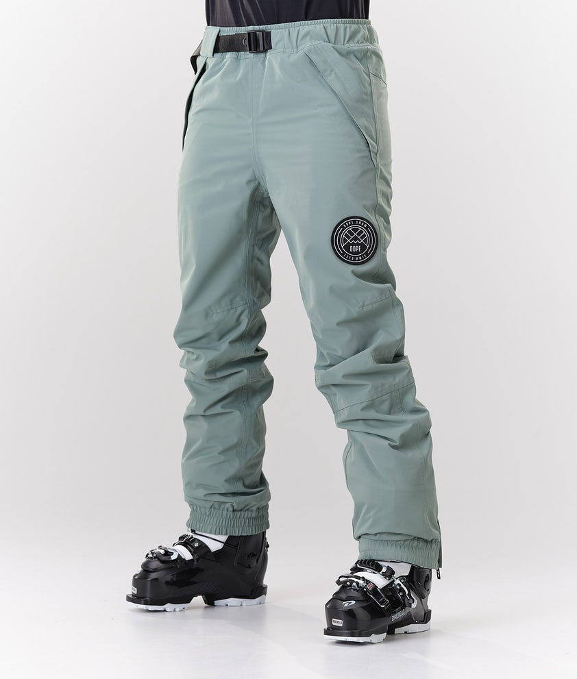 Dope Blizzard W Ski Pants Faded  Green