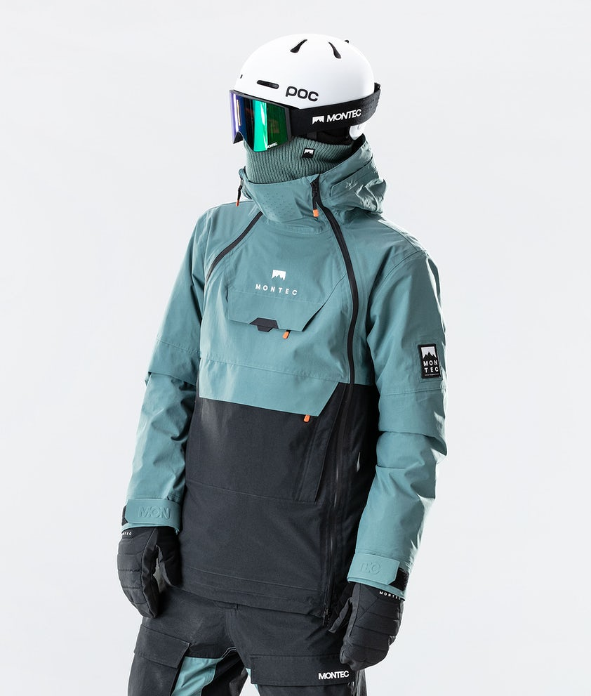 Montec Doom Veste de Ski Atlantic/Black