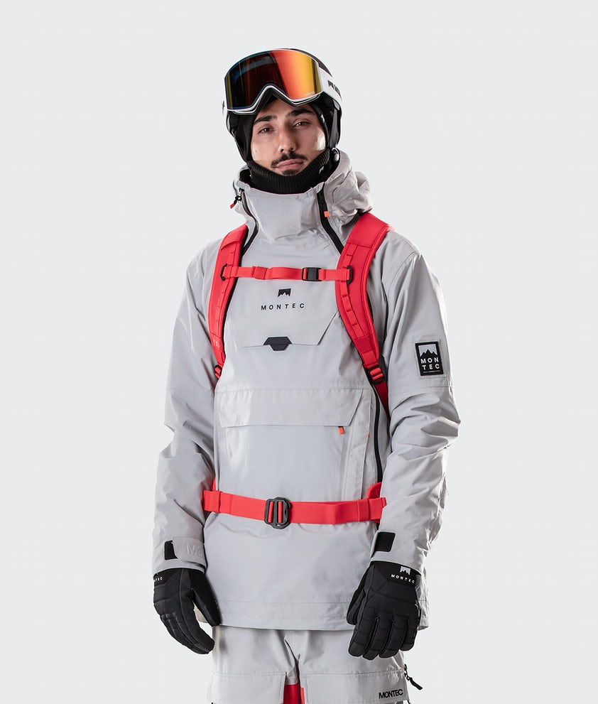 Montec Doom Veste de Ski Light Grey