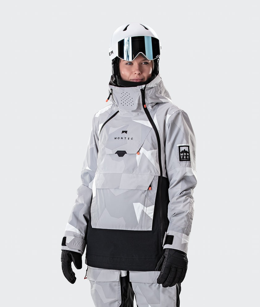 Montec Doom W Ski Jacket Snow Camo/Black