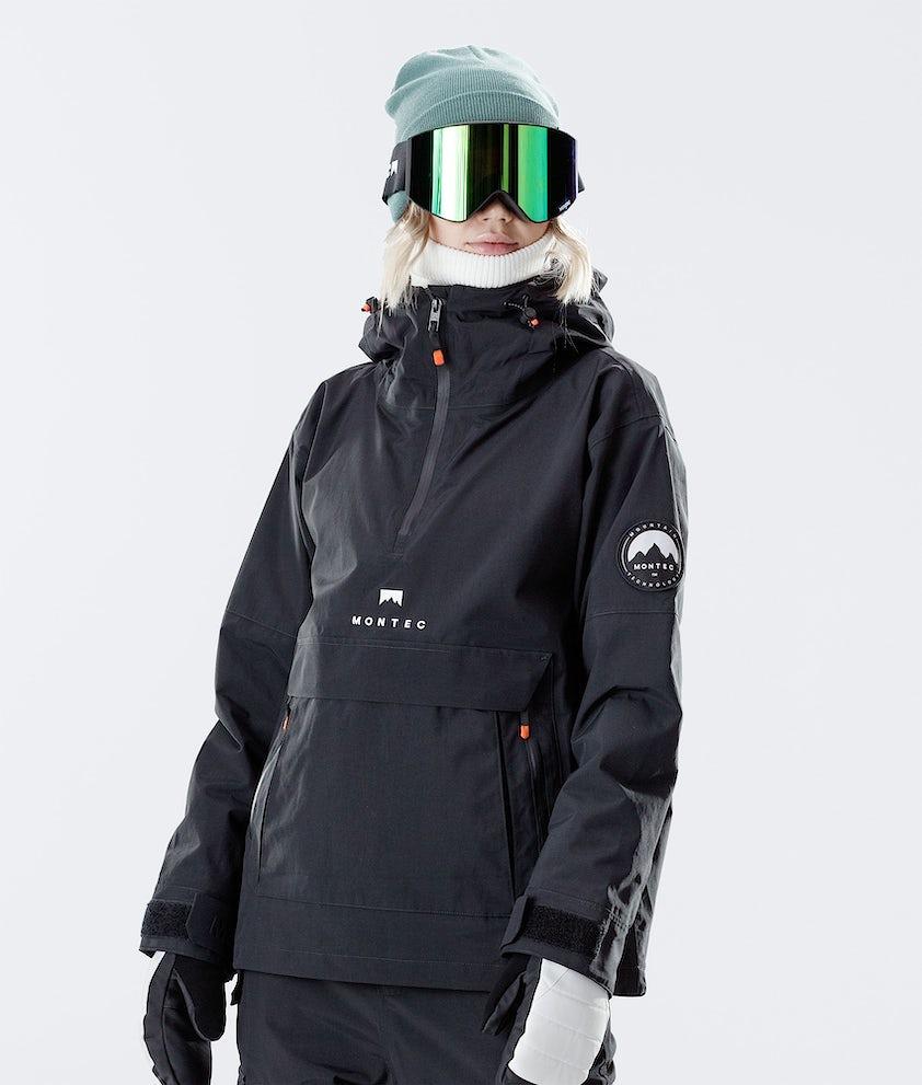 Montec Typhoon W Veste de Ski Black