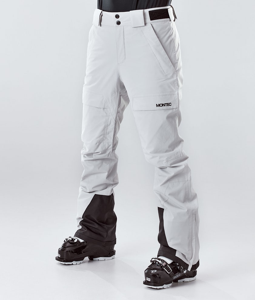 Montec Dune W Pantalon de Ski Light Grey