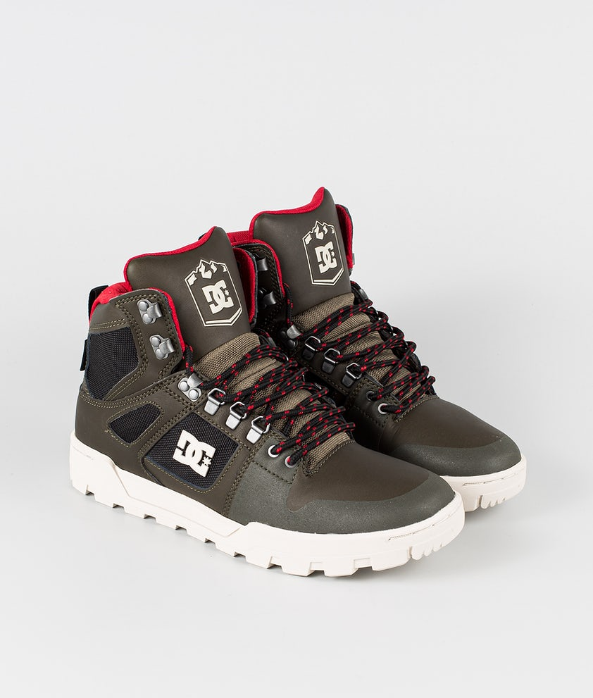 DC Pure High-Top Wr Boot Schuhe Deep Forest