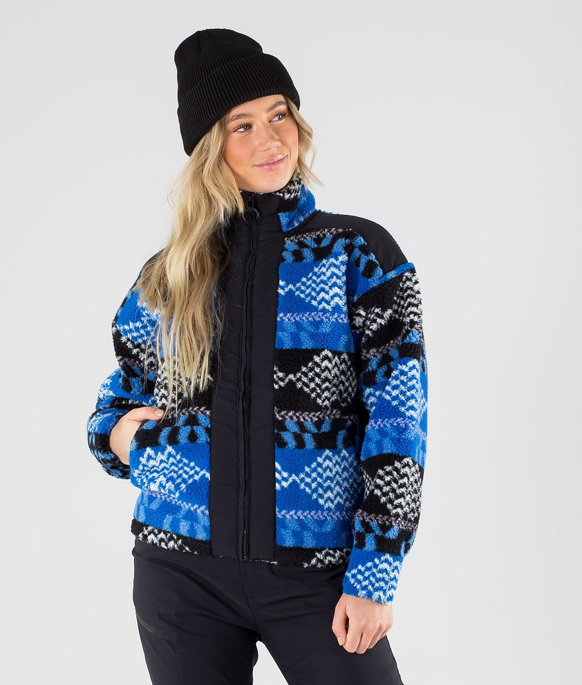 Peak Performance Original Pile Zip Gensere Pattern