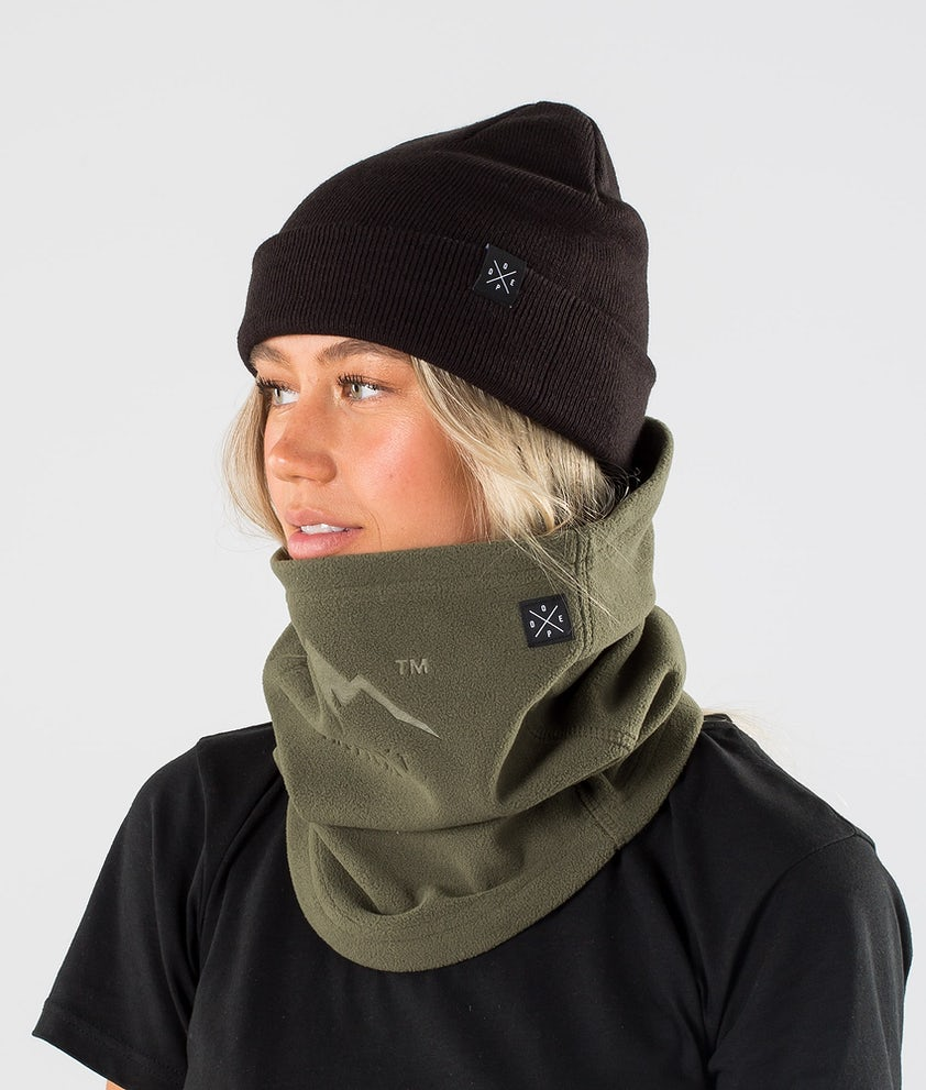 Dope Cozy Tube Facemask Olive green