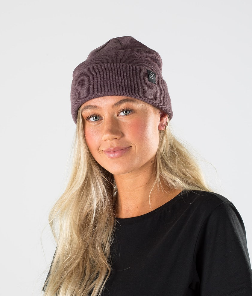 Dope Solitude Beanie Faded Grape