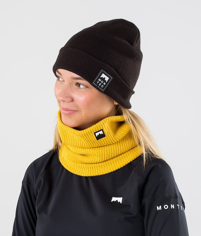 Montec Classic Knitted Ansiktsmasker Yellow